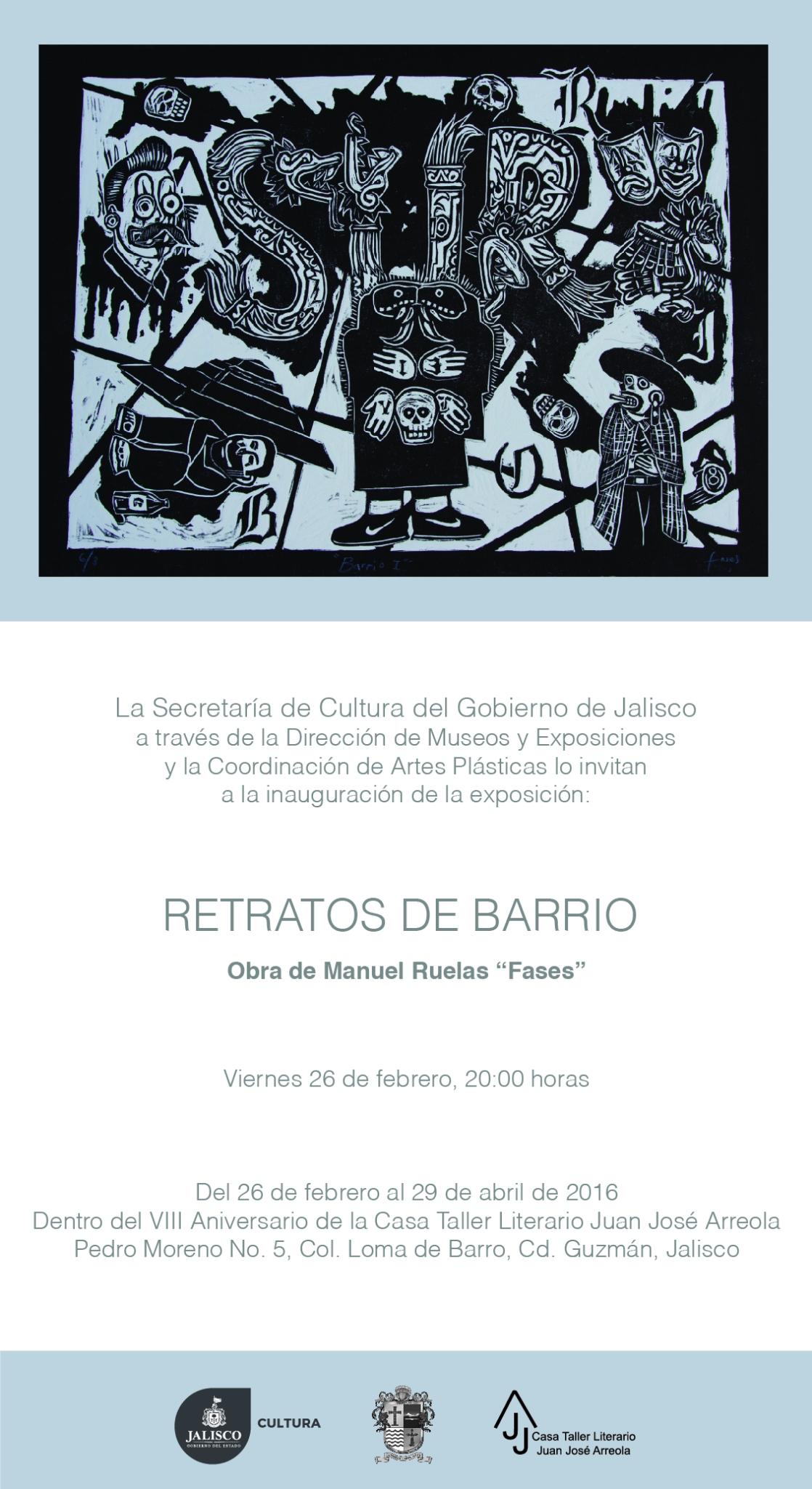 Retratos de Barrio_Invitación